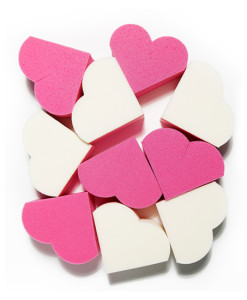 MY BEAUTY TOOL HEART SHAPE PUFF