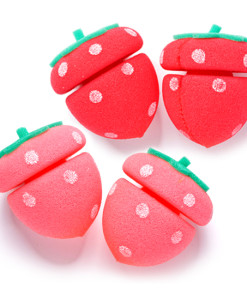 My Beauty Tool Strawberry Sponge Hair Curlers